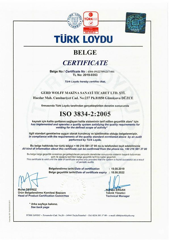 ISO 3834 -1